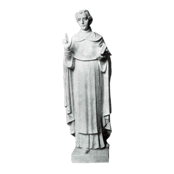 St. Dominic Granite Statue