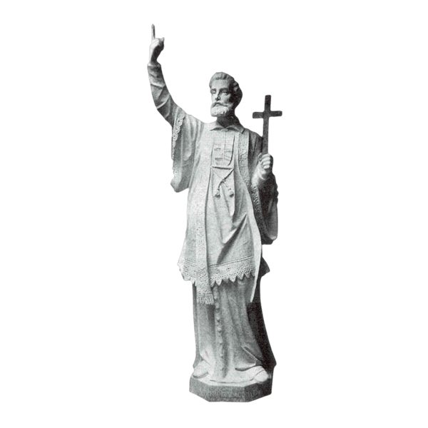 St. Francis Xavier Marble Statue