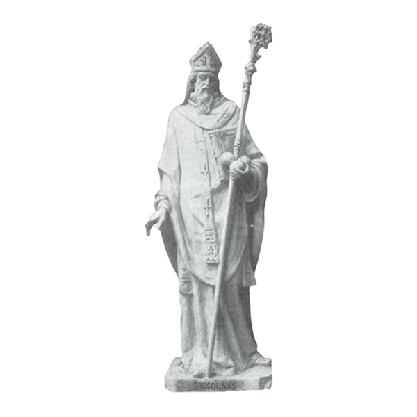 St. Nicholas Marble Statue
