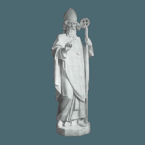 Apostle Of Ireland Granite Statue