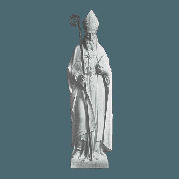 St. Patrick Croizer Granite Statue