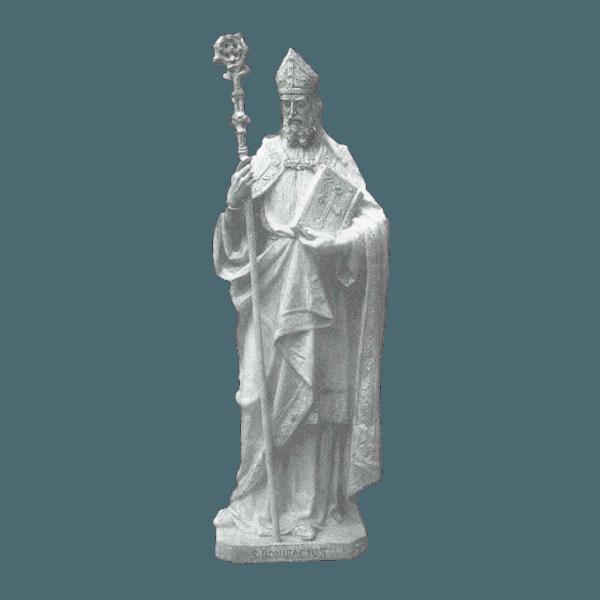 St. Boniface Marble Statue