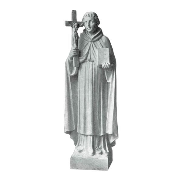 St. Peregrine Marble Statue