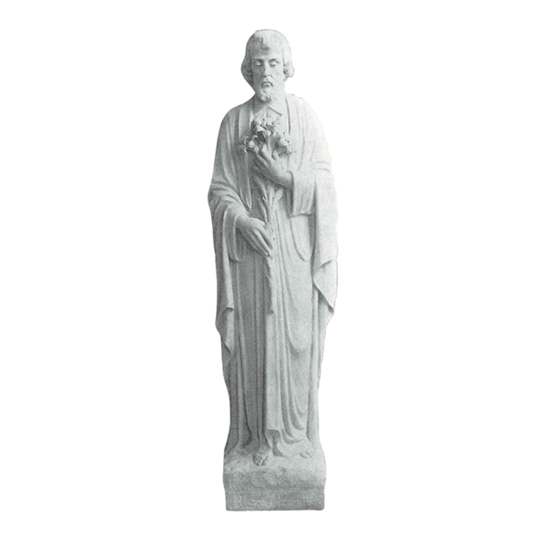 St. Joseph Marble Statue