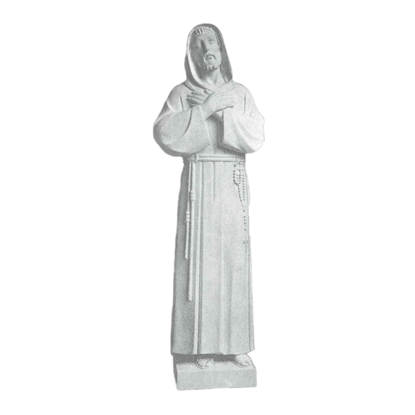 Franciscan Knot Granite Statue