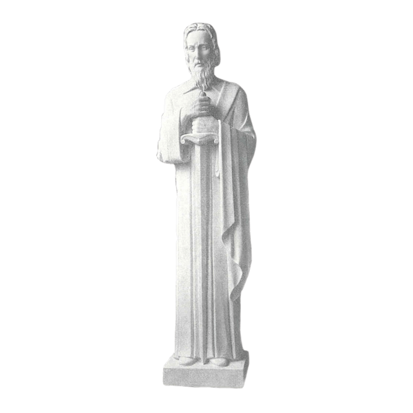 St. Paul Marble Statue