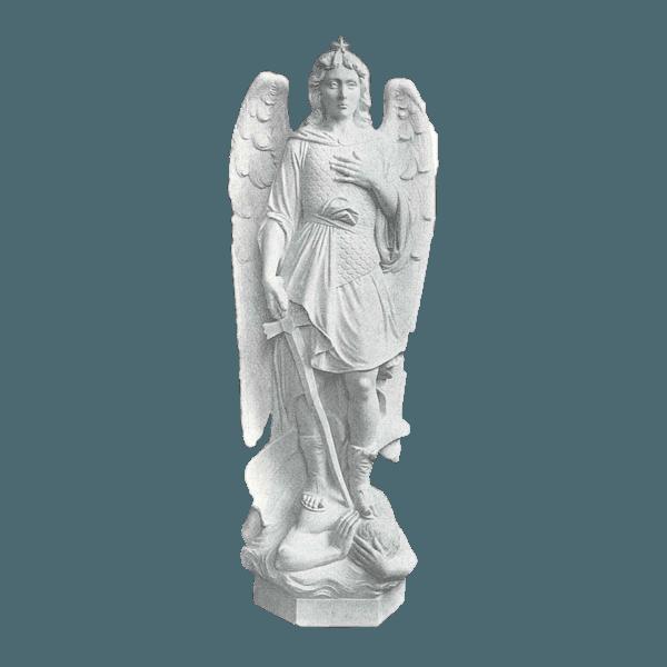 Saint Michael Archangel Marble Statue