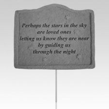Perhaps The Stars Garden Stake