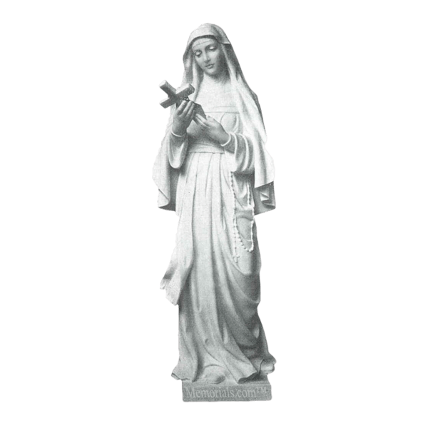 St. Rita Granite Statue