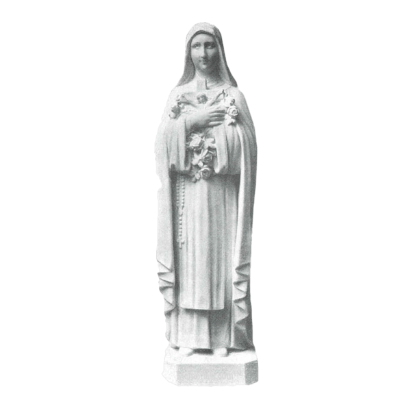 St. Theresa Granite Statue