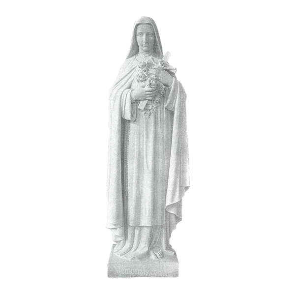 Saint Theresa Granite Statue