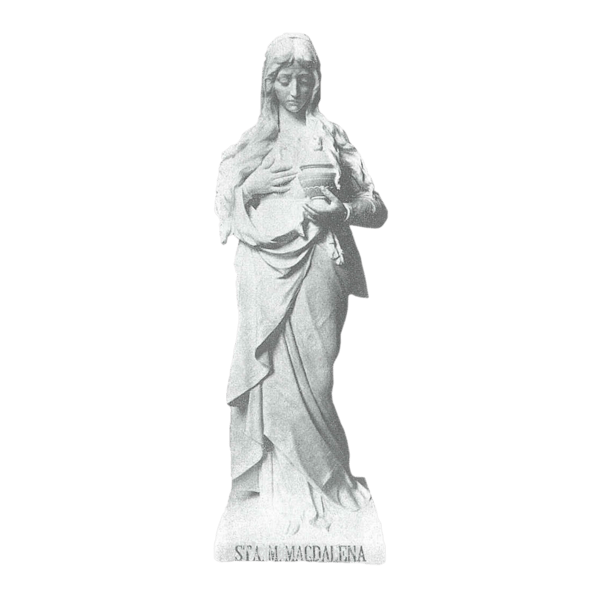 Mary Magdalena Marble Statue