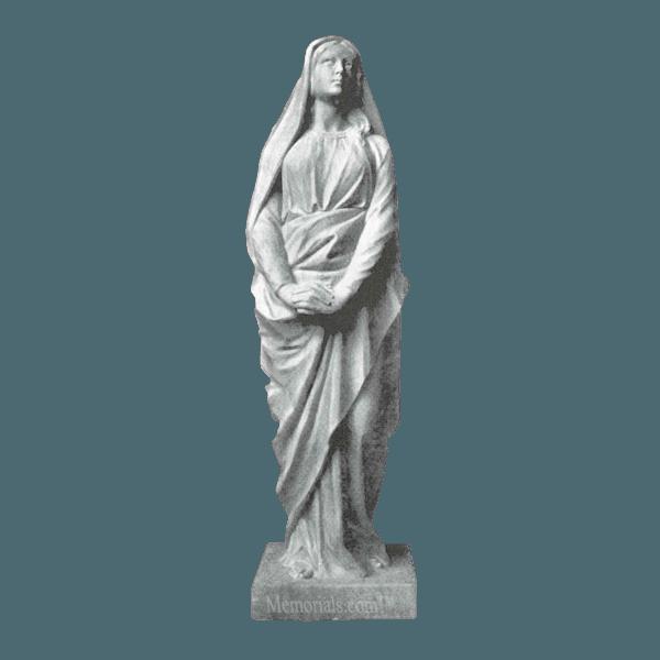 Saint Magdalen Marble Statue