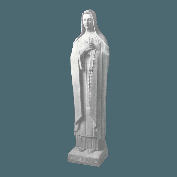 St. Theresa Of Avila Granite Statue
