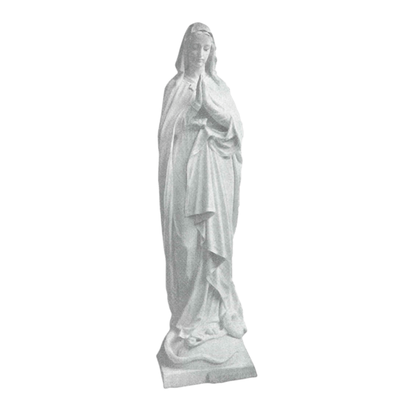 Blessing Virgin Mary Granite Statue