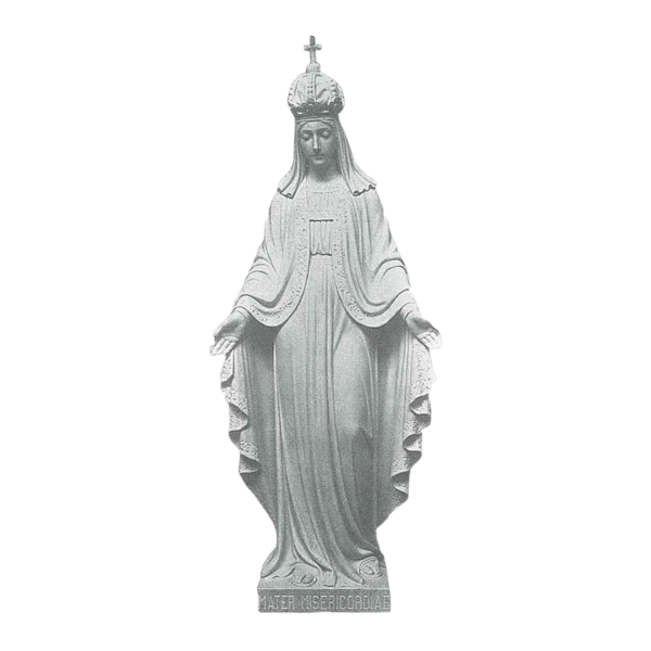 Mother Of Mercy Granite Statue