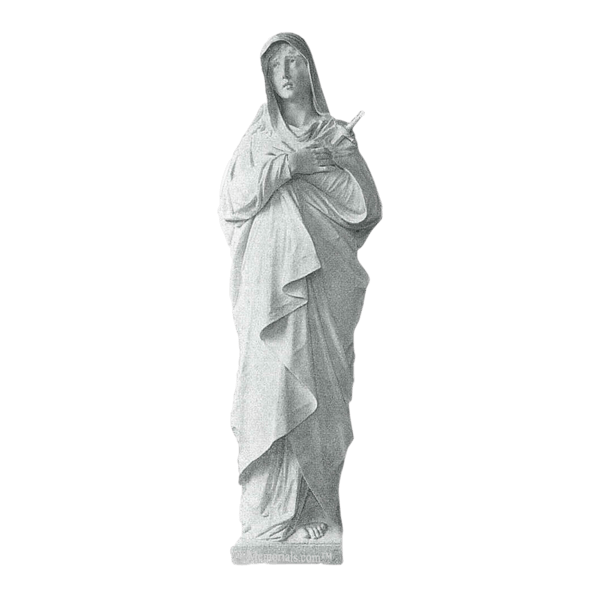 Mother Of Sorrows Marble Statue