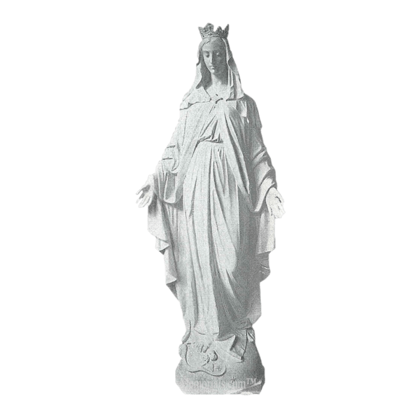 Lady Of Miracles Granite Statue