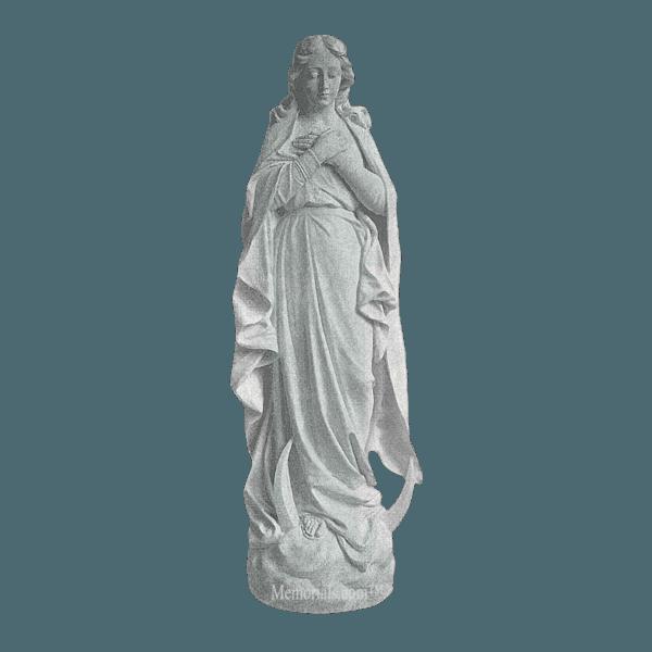 Immaculate Prayer Granite Statue