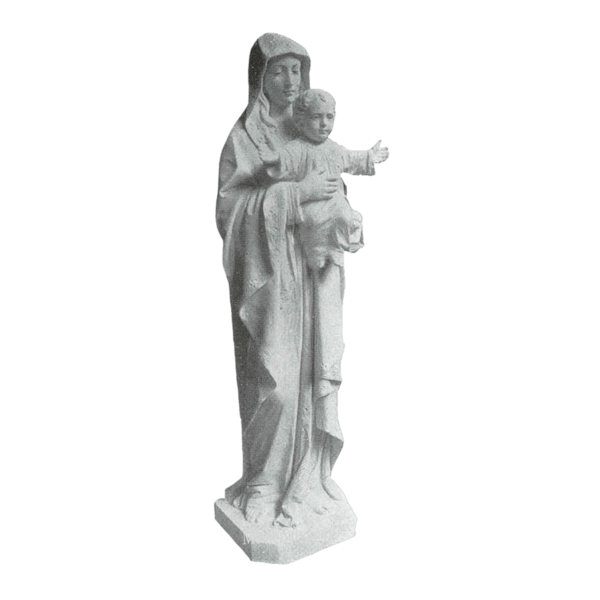 Beloved Child Marble Statue