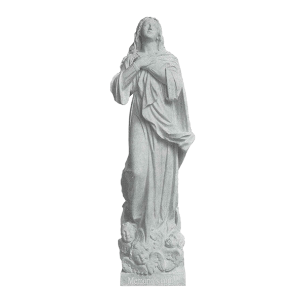 Heavenly Children Granite Statue