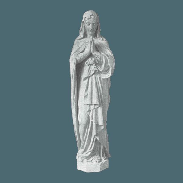 Faithful Prayer Marble Statue