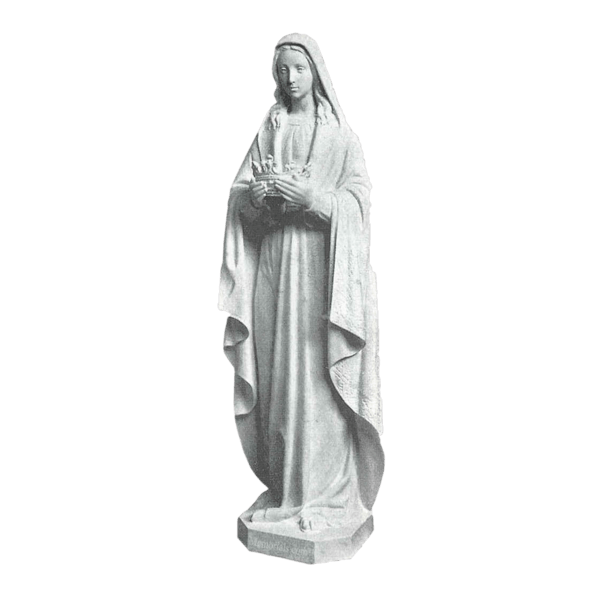 Our Lady Of Crowning Marble Statues