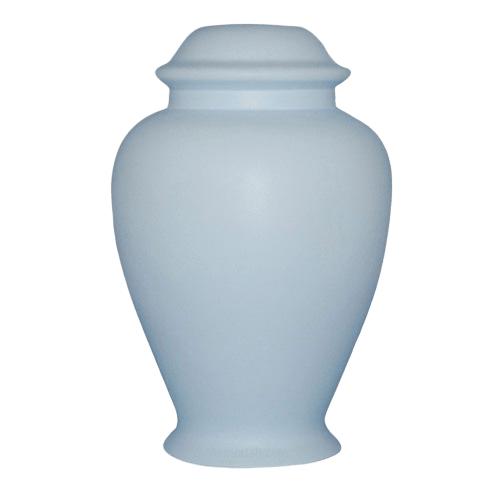 Classic Blue Ceramic Cremation Urn