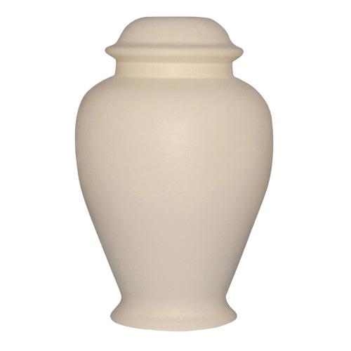 Classic Pink Ceramic Cremation Urn