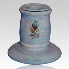 Darlene Blue Candle Holder