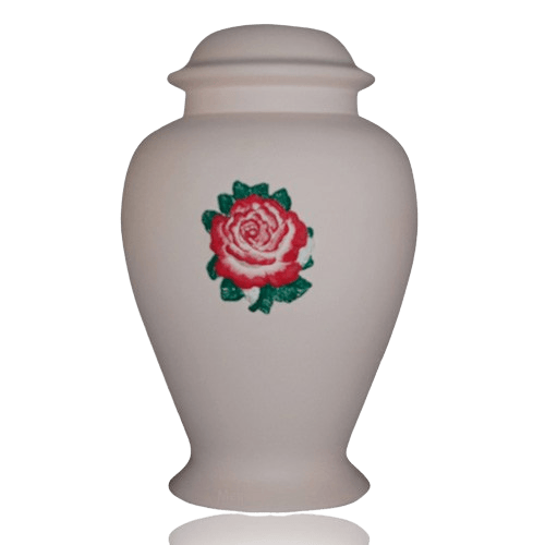 Charity Pink Ceramic Cremation Urn