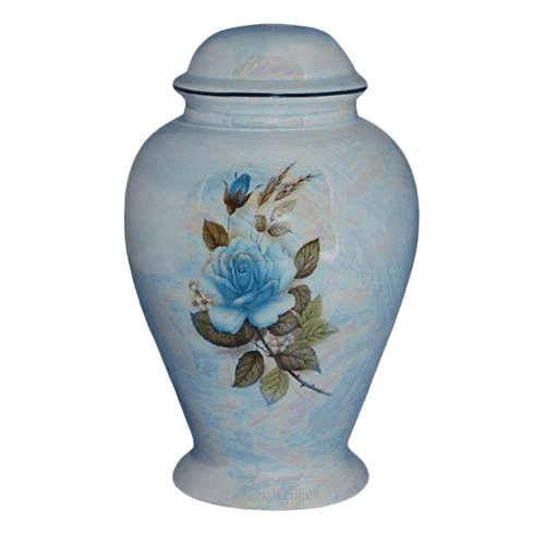 Darlene Blue Ceramic Cremation Urn