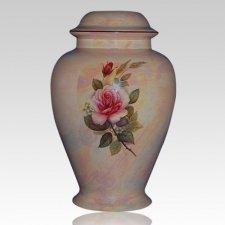 Darlene Pink Ceramic Cremation Urn