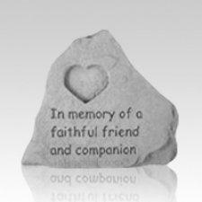 Heart Pet Memory Stone