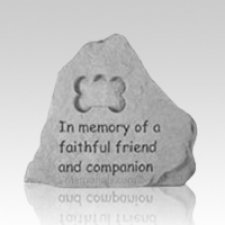 In Memory Bone Pet Memorial Stone