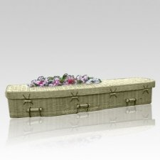 Repose Bamboo Green Caskets