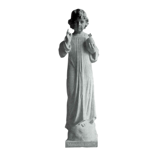 Infant Of Prague Marble Statue