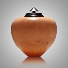 African Peach Keepsake Cremation Urn