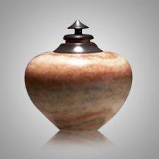 African Cream Keepsake Cremation Urn