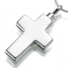 Large Cross Elegant Cremation Jewelry