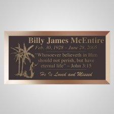 Promise Land Bronze Plaque