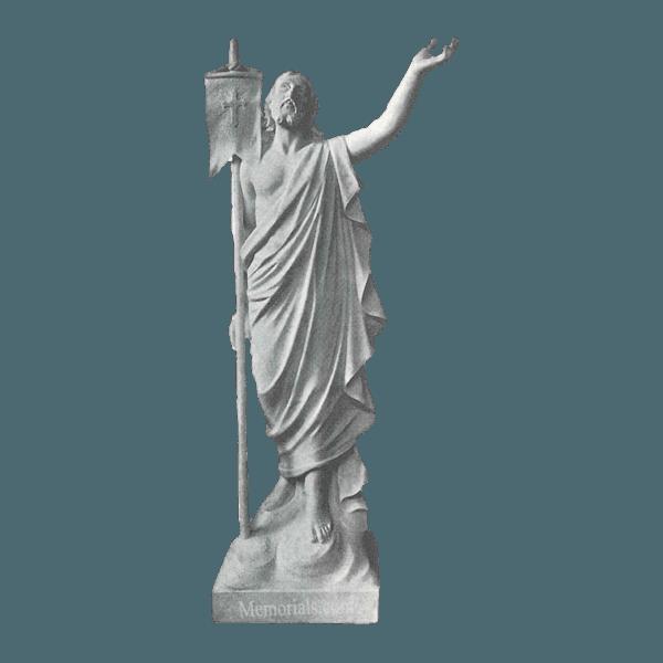 Risen Christ Marble Statue