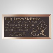Tree Of Life Bronze Plaque