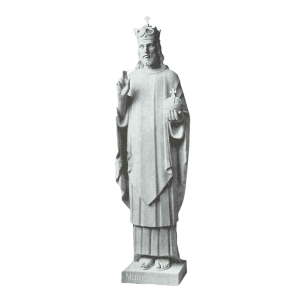 Crowned Christ Marble Statue