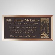 Crucifiction Bronze Plaque