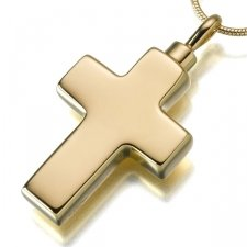 Large Cross Elegant Cremation Jewelry II
