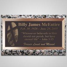 Palm Sunday Bronze Plaque