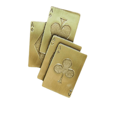 High Cards Medallion Appliques