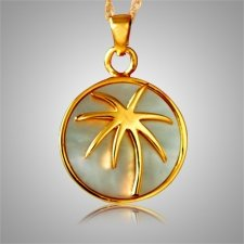 Palm Signet Nature Keepsake Pendant II