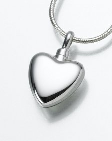 Pet Heart Cremation Jewelry